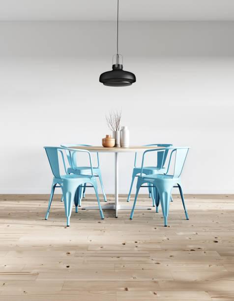Modern minimalist dining room:スマホ壁紙(壁紙.com)