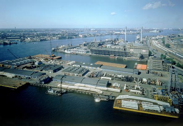 Harbor「Europort harbour of Rotterdam - Holland」:写真・画像(12)[壁紙.com]