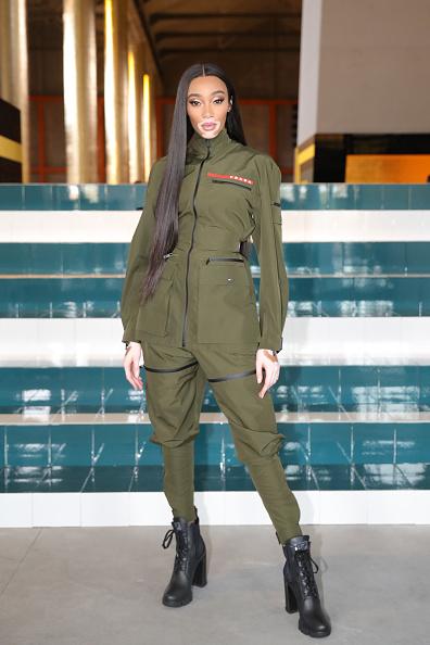 Zipper「Prada Spring/Summer 2020 Womenswear Fashion Show - Arrivals and Front Row」:写真・画像(8)[壁紙.com]