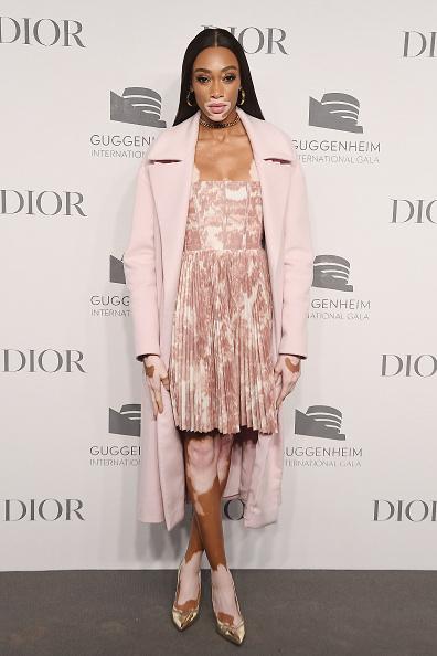 Winnie Harlow「2018 Guggenheim International Gala Pre-Party, Made Possible By Dior」:写真・画像(12)[壁紙.com]