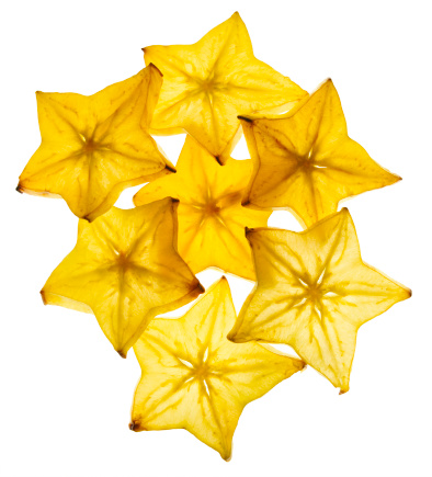 Starfruit「Group of Starfruit slices」:スマホ壁紙(16)