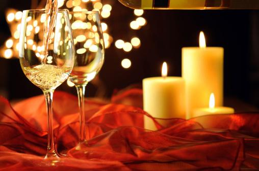 Crockery「Wine,Christmas and Candle Lights」:スマホ壁紙(6)