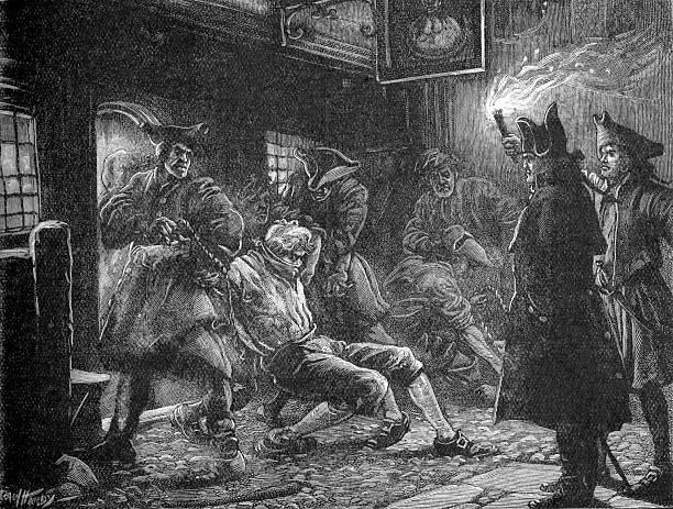 Press-gang at work, 18th century:ニュース(壁紙.com)