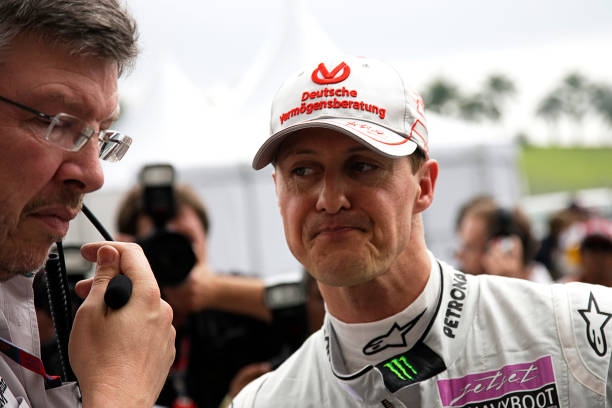 Malaysian Formula One Grand Prix「Ross Brawn, Michael Schumacher, Grand Prix Of Malaysia」:写真・画像(18)[壁紙.com]