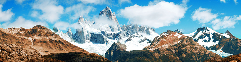 Steep「Panoramic Fitz Roy mountain, El Chalten, Patagonia, Argentina」:スマホ壁紙(12)