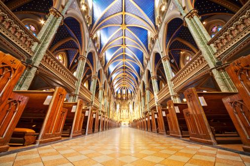 Gothic Style「Notre Dame Cathedral Ottawa」:スマホ壁紙(18)