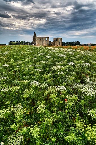 Nouvelle-Aquitaine「Notre Dame de Re church ruins, Nouvelle-Aquitaine, France」:スマホ壁紙(11)