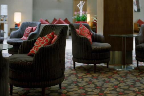 Hotel Reception「Elegant hotel lounge」:スマホ壁紙(15)