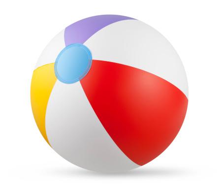 ビーチ「ビーチボール」:スマホ壁紙(3)