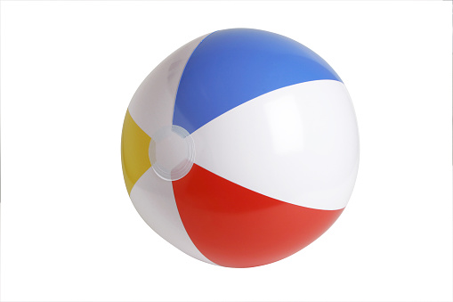 Saturated Color「Beach ball Series (CLIPPING PATH)」:スマホ壁紙(9)