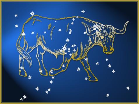 Multi-Layered Effect「Taurus astrological sign」:スマホ壁紙(0)