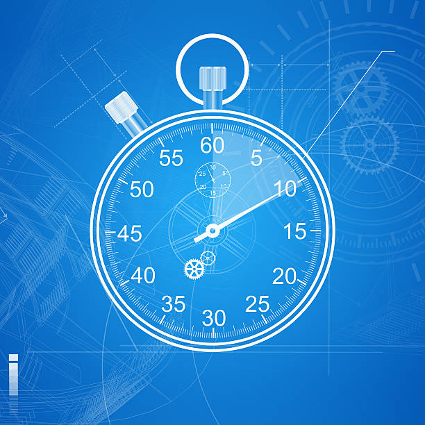 Stopwatch-Timer Blueprint:スマホ壁紙(壁紙.com)