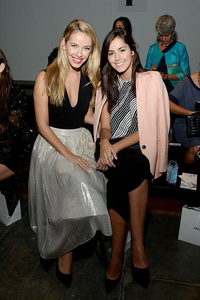 Chelsea Piers「Australian Evening & Bridal Wear - Front Row - Spring 2016 New York Fashion Week」:写真・画像(6)[壁紙.com]