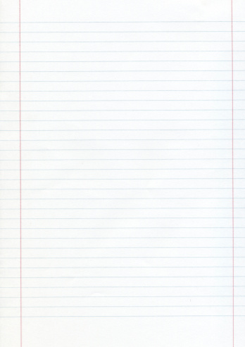 Lined Paper「Blank piece of lined paper with red margins」:スマホ壁紙(7)