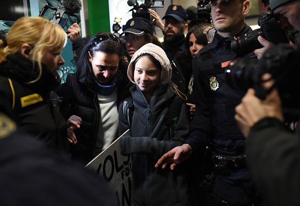 Madrid「Greta Thunberg Arrives In Madrid」:写真・画像(0)[壁紙.com]