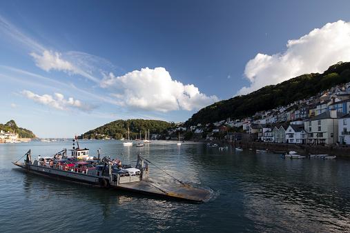Dartmouth - England「Dartmouth harbor, English Riviera」:スマホ壁紙(18)