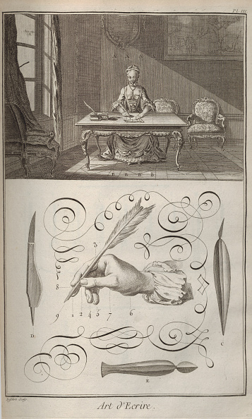 Etching「The Art Of Writing From Encyclopedie By Denis Diderot And Jean Le Rond Dalembert」:写真・画像(5)[壁紙.com]