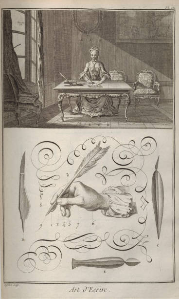 The Art Of Writing From Encyclopedie By Denis Diderot And Jean Le Rond Dalembert:ニュース(壁紙.com)