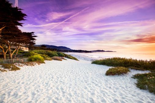 Carmel - California「Carmel Beach in Carmel-by-the-Sea」:スマホ壁紙(5)