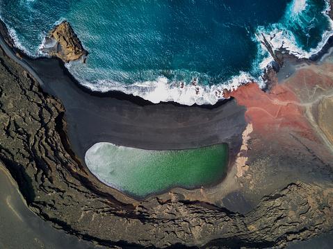 火山「ラゴ デ ロス clicos」:スマホ壁紙(18)