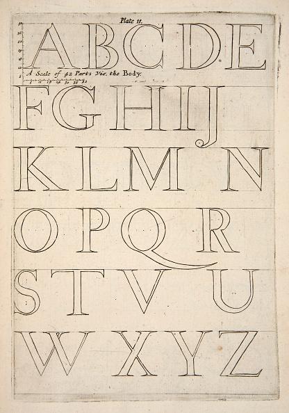 Specimen Holder「Alphabet Specimen Sheet」:写真・画像(15)[壁紙.com]