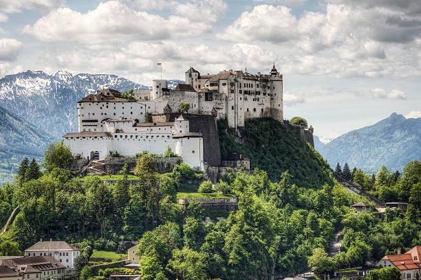 Hohensalzburg Fortress in Austria:スマホ壁紙(壁紙.com)