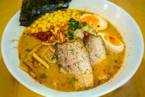 Miso Ramen「Spicy Japanese ramen」:スマホ壁紙(3)