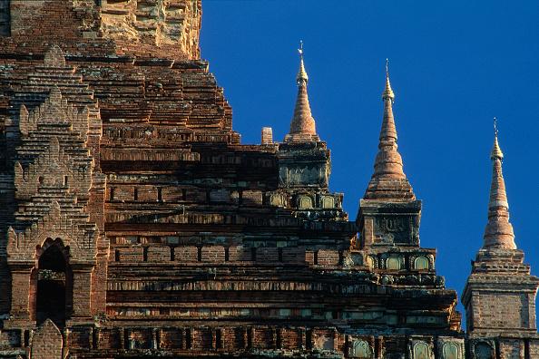 Brick Wall「Detail of wat temple. Pagan, Burma, Myanmar.」:写真・画像(8)[壁紙.com]