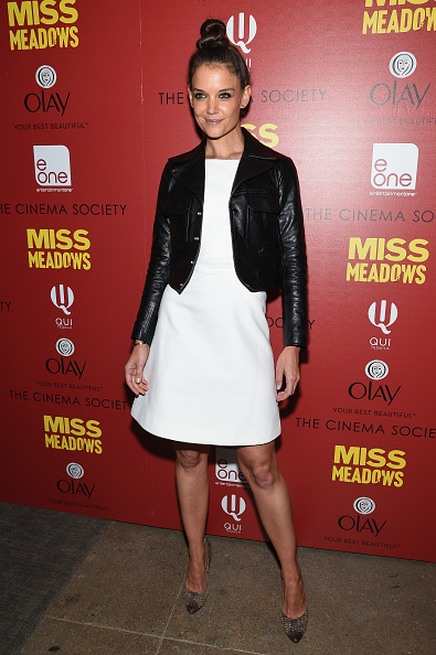 """Leather Jacket「The Cinema Society & Olay Host A Screening Of Entertainment One's """"Miss Meadows"""" - Arrivals」:写真・画像(19)[壁紙.com]"""