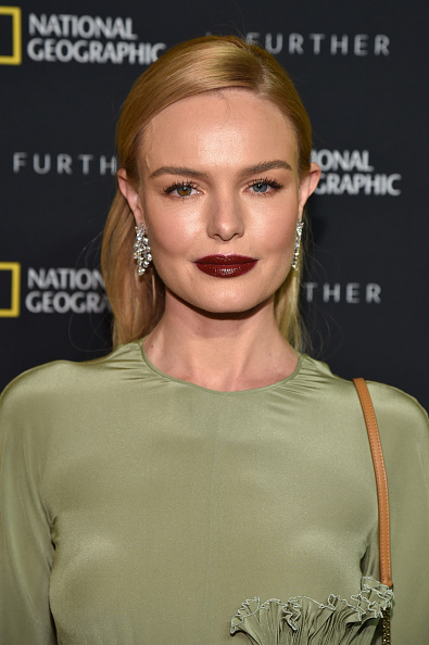 Maroon Lipstick「National Geographic's Further Front Event In New York City - Red Carpet」:写真・画像(12)[壁紙.com]