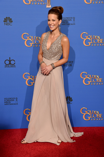 Evening Gown「72nd Annual Golden Globe Awards - Press Room」:写真・画像(16)[壁紙.com]