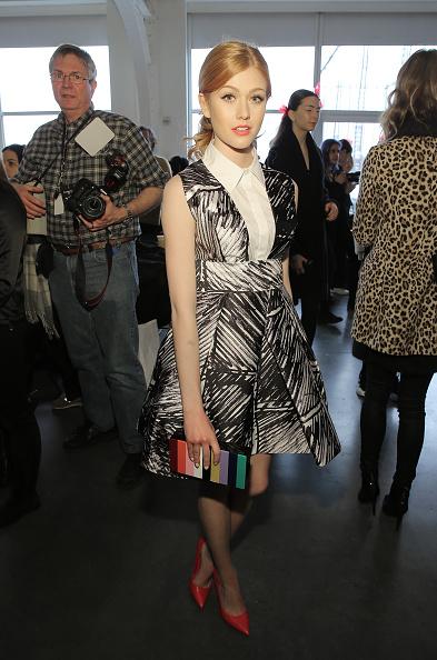 Katherine McNamara「Milly - Backstage - Fall 2016 New York Fashion Week」:写真・画像(19)[壁紙.com]