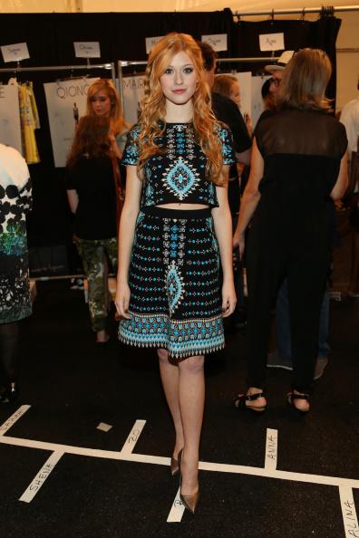 The Salon - Lincoln Center「Nanette Lepore - Backstage - Mercedes-Benz Fashion Week Spring 2015」:写真・画像(8)[壁紙.com]