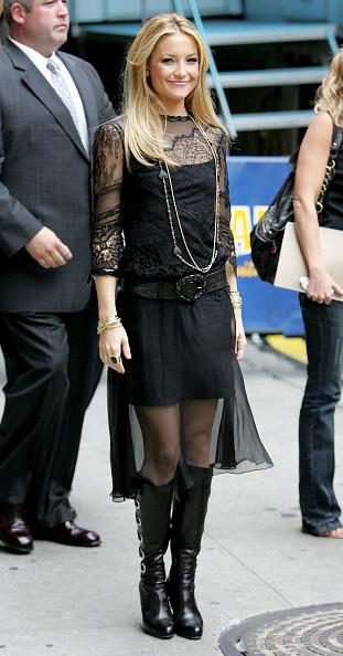 "Knee Length「Kate Hudson Arrives At ""Late Night"" With David Letterman」:写真・画像(7)[壁紙.com]"