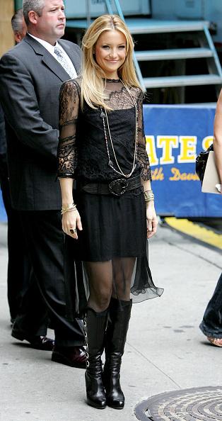 "Knee Length「Kate Hudson Arrives At ""Late Night"" With David Letterman」:写真・画像(9)[壁紙.com]"