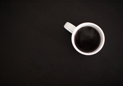Coffee Break「Top view of coffee on black」:スマホ壁紙(9)