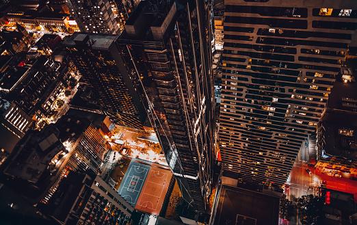 2018「top view of melbourne cbd at night」:スマホ壁紙(19)