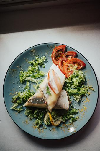 バイタリティ「おいしいラップ サンドイッチの平面図」:スマホ壁紙(10)