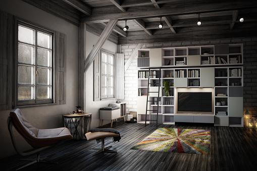 High Definition Television - Television Set「Cozy Studio Apartment」:スマホ壁紙(19)