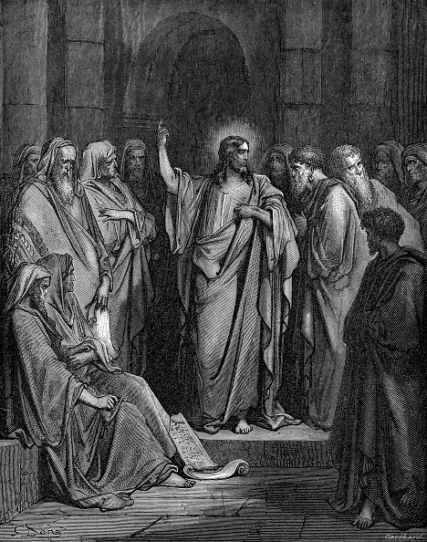 Preacher「Jesus preaches in the synagogue (Matthew chapter XIII)」:写真・画像(19)[壁紙.com]