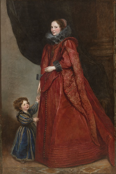 17th Century「A Genoese Lady With Her Child」:写真・画像(17)[壁紙.com]