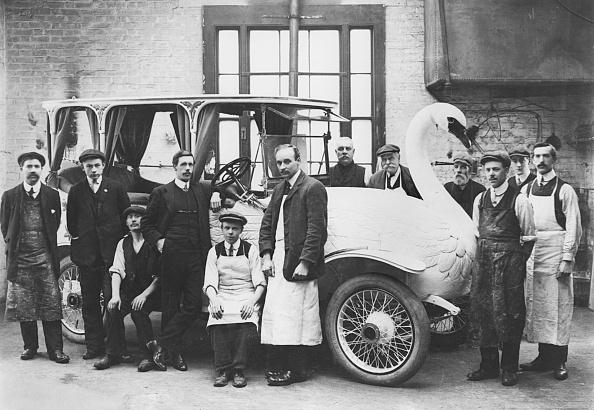 Edwardian Style「1910 Brooke Special Swan Car. Creator: Unknown.」:写真・画像(19)[壁紙.com]