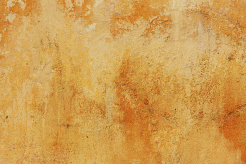 Morocco「Weathered yellow wall background」:スマホ壁紙(2)
