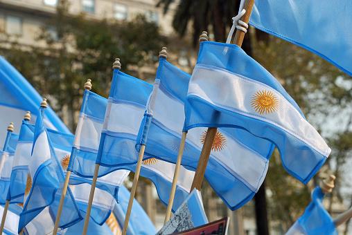 Argentinian Flag「Argentina Flag」:スマホ壁紙(3)