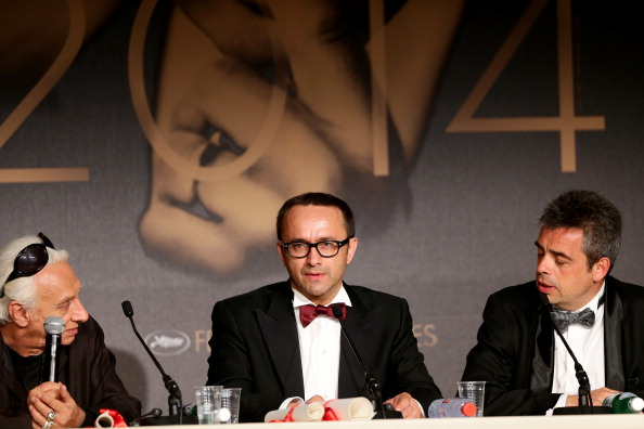 Best Screenplay Award「Palme D'Or Winners Press Conference - The 67th Annual Cannes Film Festival」:写真・画像(4)[壁紙.com]
