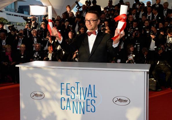 Best Screenplay Award「Palme D'Or Winners Photocall - The 67th Annual Cannes Film Festival」:写真・画像(0)[壁紙.com]