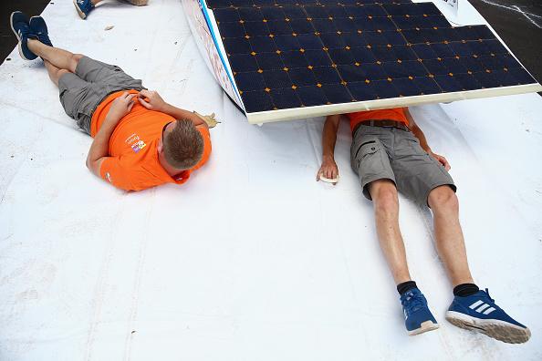 Land Vehicle「2015 World Solar Challenge」:写真・画像(1)[壁紙.com]
