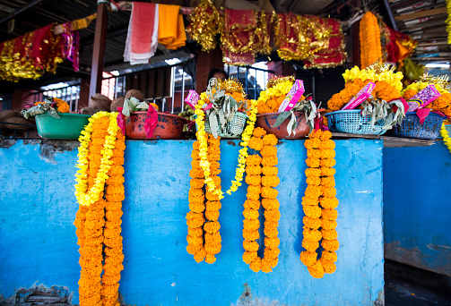 Flower Shop「Market Stall, Kerala, India」:スマホ壁紙(17)