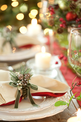 Pine Cone「Holiday Dining Table」:スマホ壁紙(15)