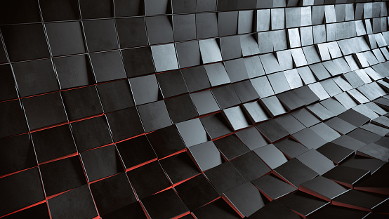 Surface Level「Abstract 3d background」:スマホ壁紙(9)